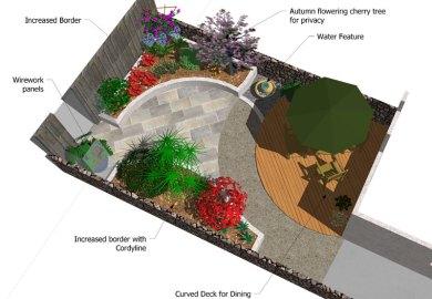 Very Very Small Garden Design