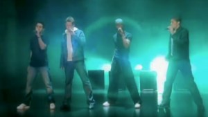 Blue boy band All Rise, video still from video