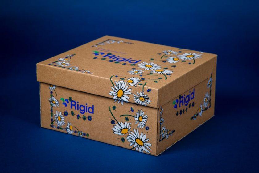 cardboard box product photography