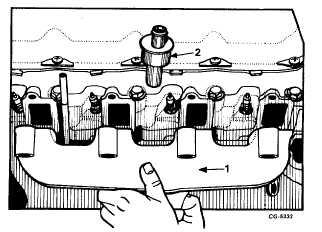 Fig. 38 Intake Manifold Seals