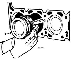 Fig. 58 Positioning Connecting Rods for Removal