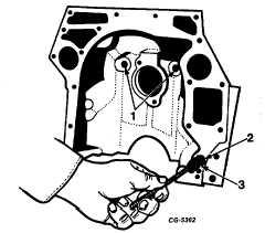 Fig. 67 Using SE-1368 Puller to Remove Crankshaft Gear