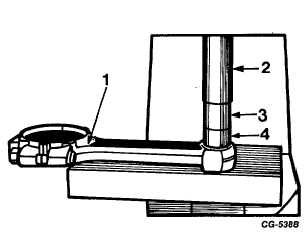 Fig. 94 Using SE-2539 Tool to Remove Worn Connecting Rod