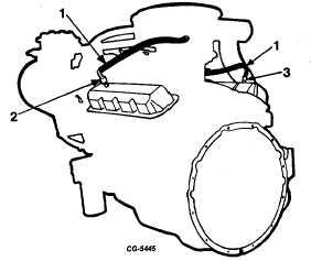 Fig. 153 Flame Arrestor and Crankcase Ventilator Valve