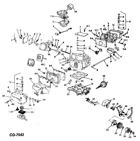Figure 27 Exploded View of Carburetor (Typical)