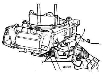 Accelerating Pump Stroke Adjustments