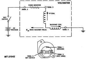 Fig 25 Voltmeter Circuit Diagram