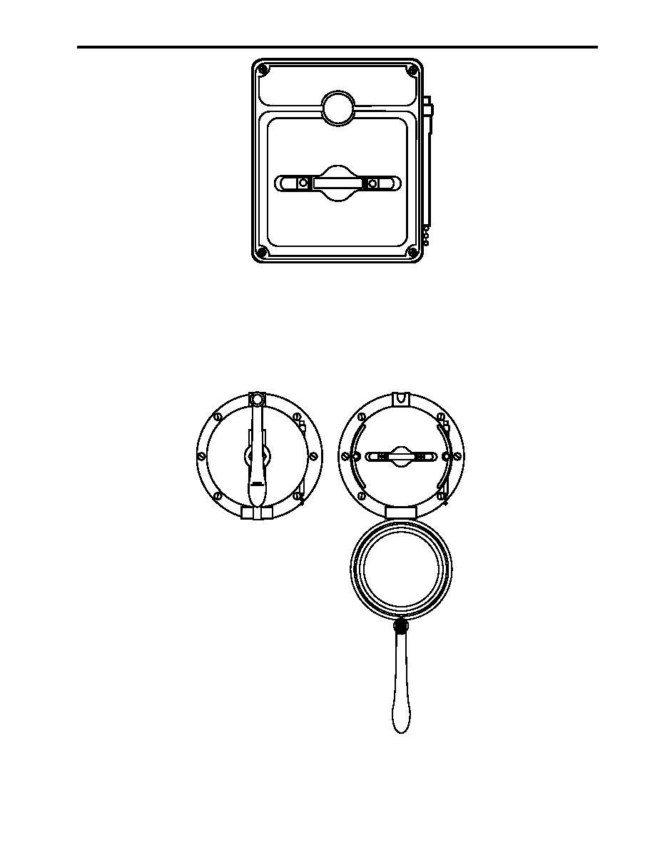 Figure 7. Interior FM-200 Manual Pull Box