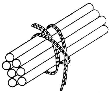 Figure 6-5. Finishing Square Knot