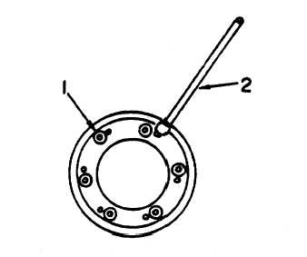 Staking Reticle and Retaining Ring with Sealing Compound