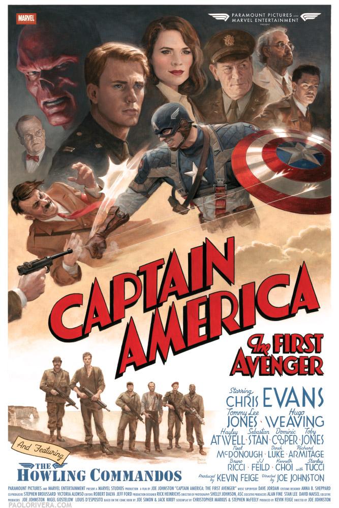 Captain America First Avenger Streaming : captain, america, first, avenger, streaming, Captain, America:, First, Avenger, Poster