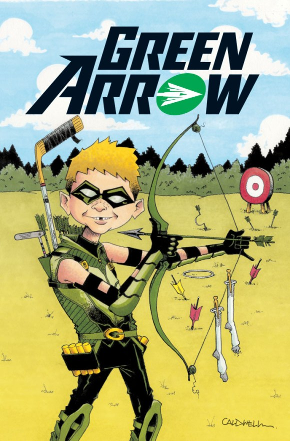 MAD Green Arrow Cover