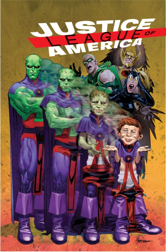 MAD Justice League of America Cover