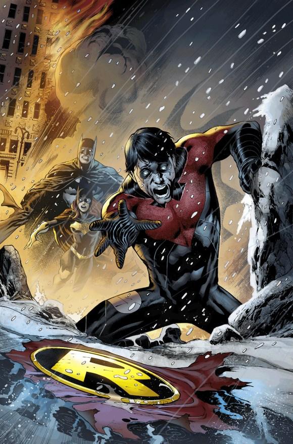Nightwing # 18 by Eddy Barrows