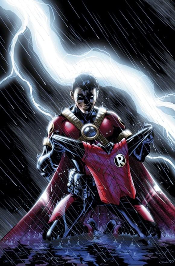 Teen Titans # 18 by Eddy Barrows