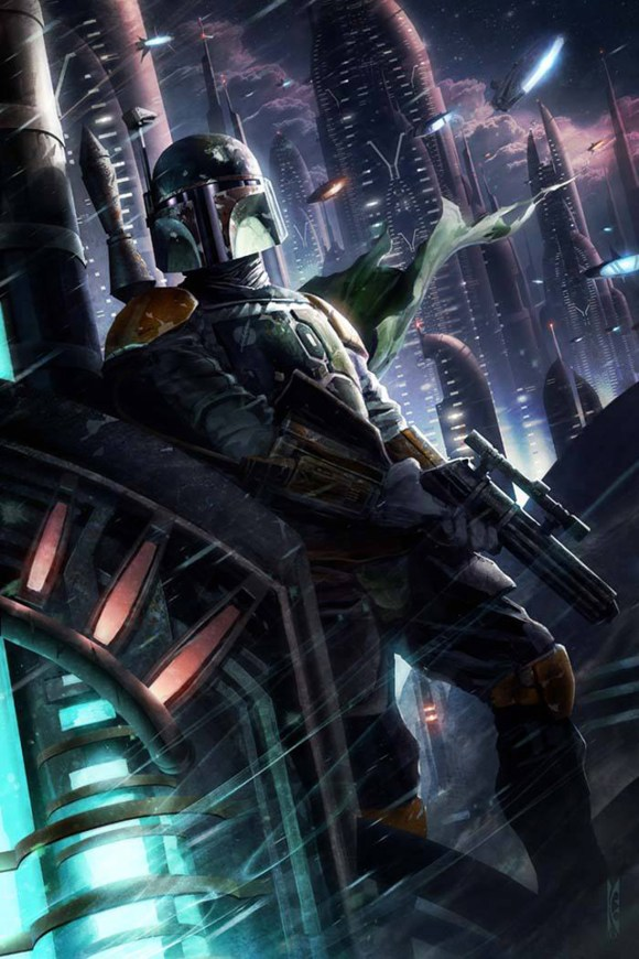 A-Hunter-in-the-Endless-City-by-Raymond-Swanland