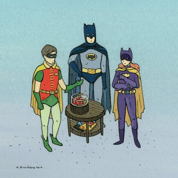 WaitingfortheCall(Batman)