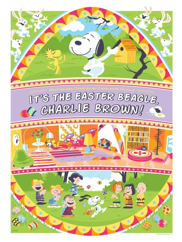 Easter Beagle 4 Color Variant 1