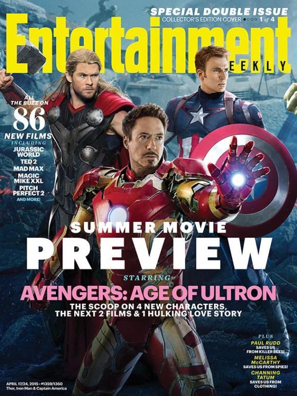 "Iron Man Captain America Hulk Movie 24/""x36/"" Poster 017 Age of Ultron"