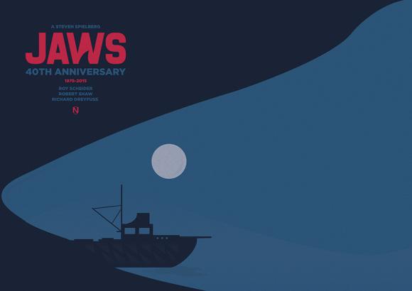 Jaws (40th Anniversary) by Matt Needle