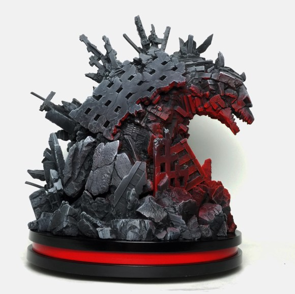 Godzilla-Statue-Protoype