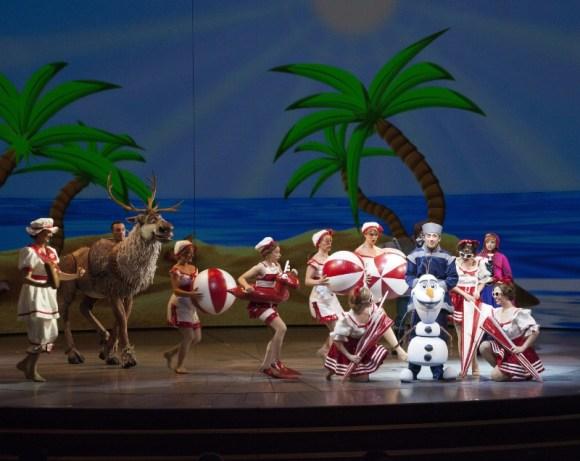 Disneyland Resort OLAF DREAMS OF SUMMER