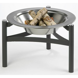Dancook Firepit and Chimineas -Black and Silver