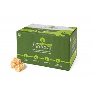 Box of 200 natural firelighters