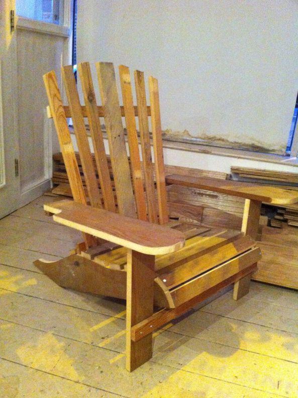 DIY Adirondack Chair Plans Folding Wooden PDF wood
