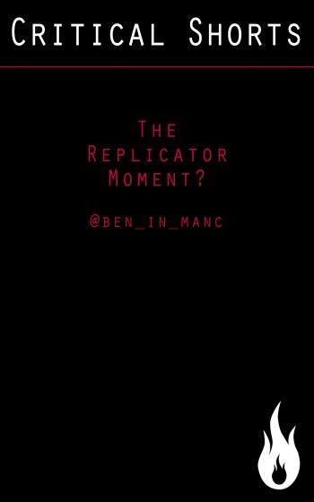 The Replicator Moment cover