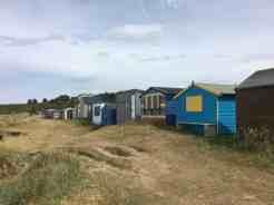 The beach huts at Hopeman