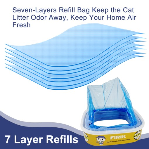 7-layer material to stop the order
