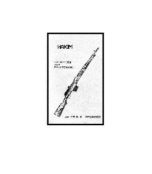Egyptian Hakim Rifle