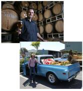 Vince and Natalie Cilurzo - courtesy of Russian River Brewing Co.