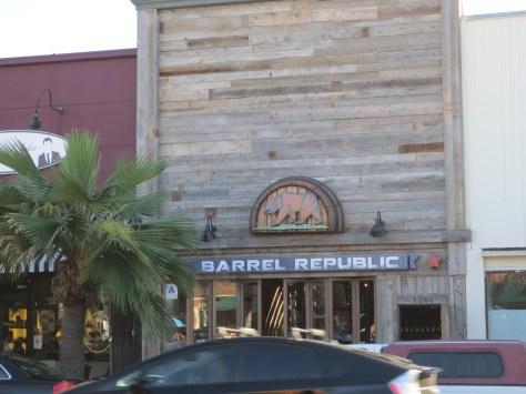 Barrel Republic is located on Garnet Avenue in Pacific Beach.