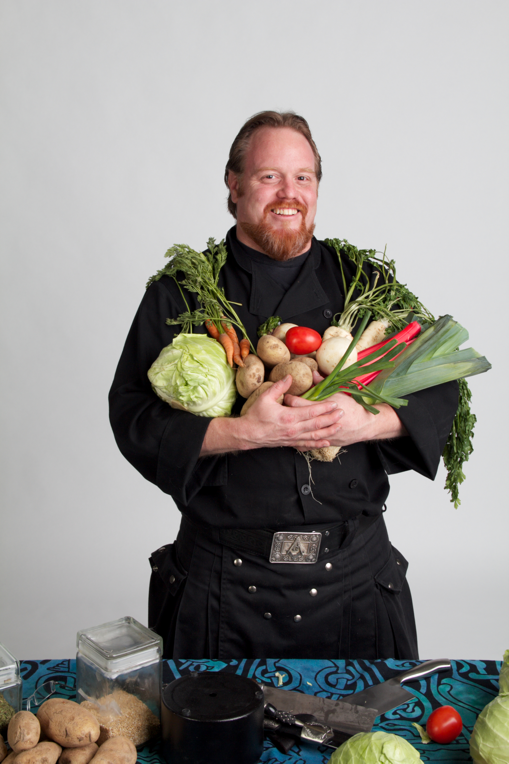 Chef eric mcbride featured at the queen mary scotsfestival ...