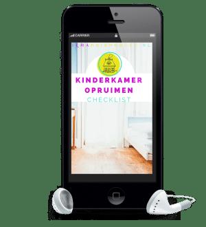 Checklist kinderkamer opruimen  Firma Huishouden