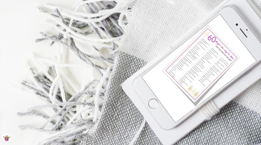 60 Dingen om op te ruimen voor het nieuwe jaar   gratis opruim checklist