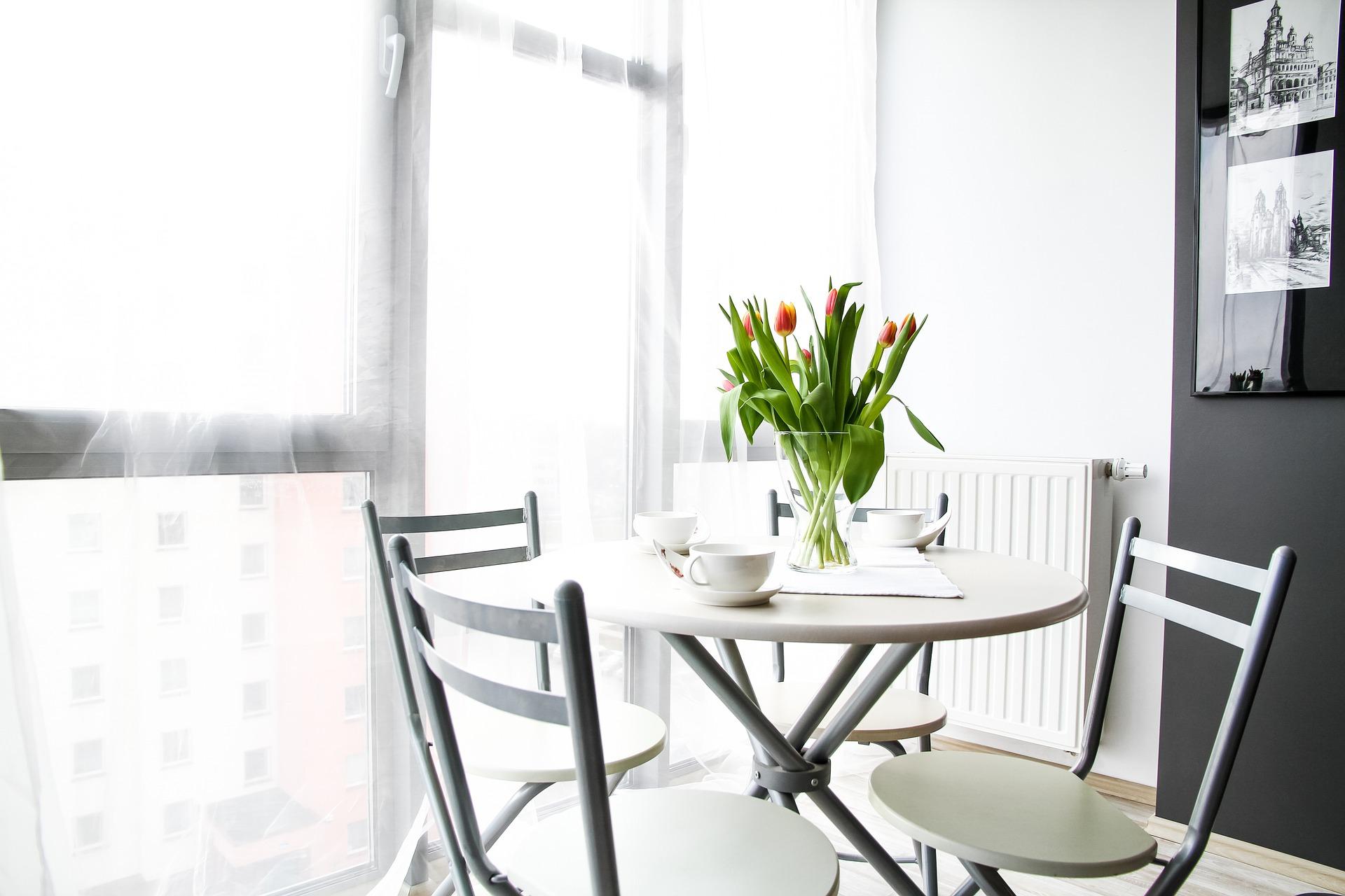Apartment room house residential interior interior design decoration comfortable apartment flowers tulips apartment house house interior design interior design interior design interior design interior design