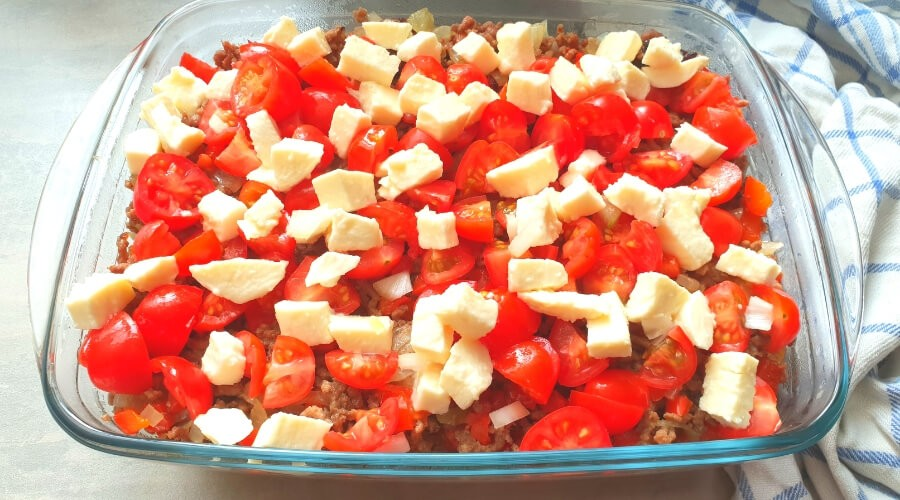 Kapsalon gezond met mozzarella