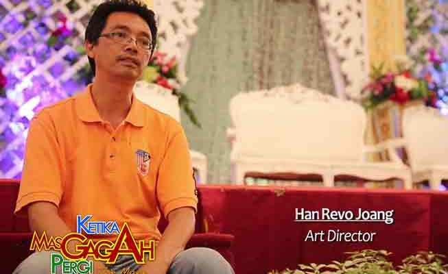 Han Revo Joang Penata Artistik Film