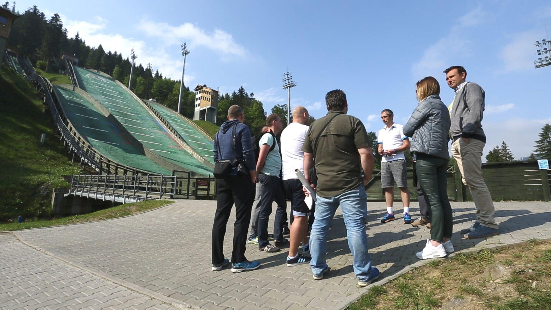 Program szkoleniowy Lean Black Belt na skoczni narciarskiej w Szczyrku