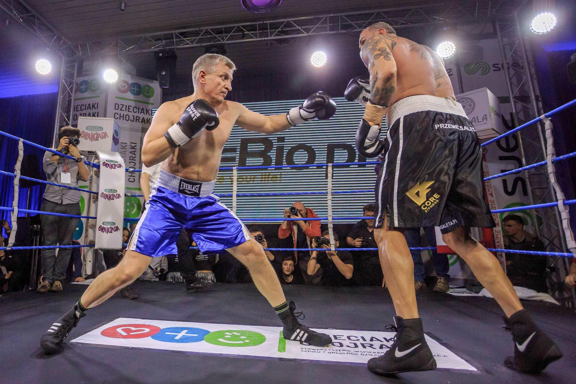 Charytatywna gala Biznes Boxing Polska