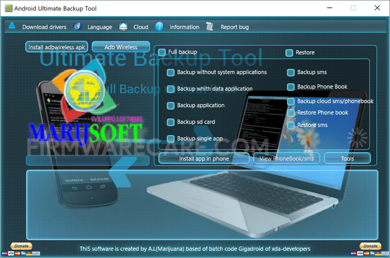 Android Ultimate Backup Tool
