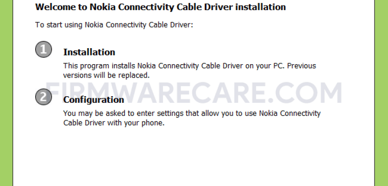 Nokia Connectivity Cable Driver v2.2.35