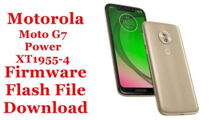 Motorola Moto G7 Power XT1955-4