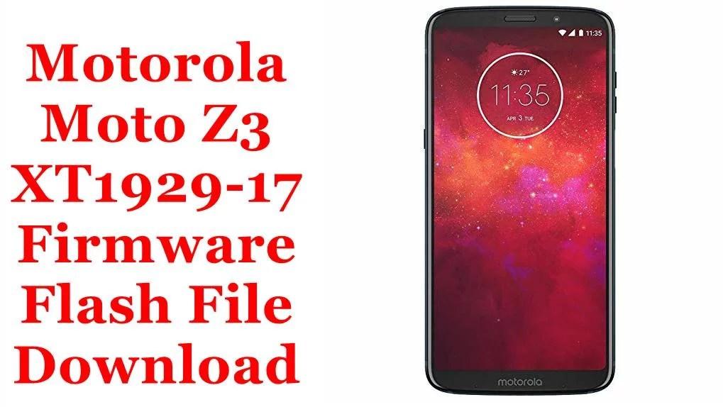 Motorola Moto Z3 XT1929-17