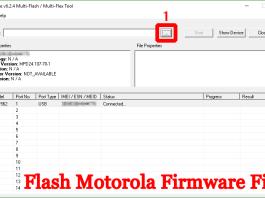 Flash Motorola Firmware File