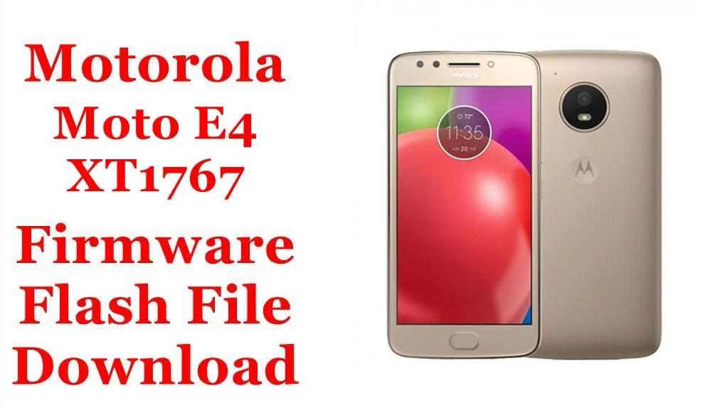 Motorola Moto E4 XT1767