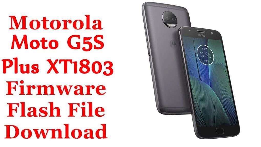 Motorola Moto G5S Plus XT1803